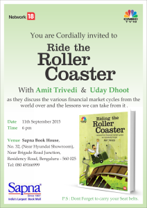 Book launch event at Bengaluru