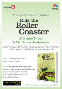 Book launch at Crossword, Kemps Corner, Mumbai