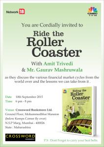 Book launch at Crossword, Kemps Corner, Mumbai